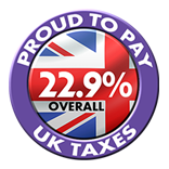 We pay uk taxes.