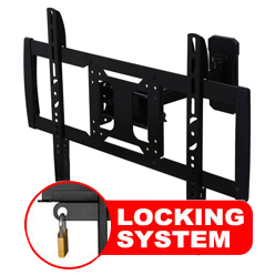 A433BLK Professional Single Arm Cantilever Bracket With Locking Feature
