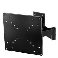 A16ABLK Full rotational wall bracket