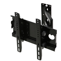 A408BLK Full motion single arm cantilever bracket