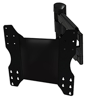 A445DBLK Full Motion Single Arm Cantilever Bracket Version 3