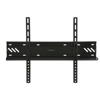 A79BLK Flush flat bracket with locking feature version 1 - large