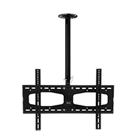 C356BLK Professional medium length rotating flat ceiling bracket - large