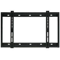 SLIMLINE3BLK Super slim line flat bracket - large